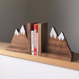 Mountain Bookends for Kids